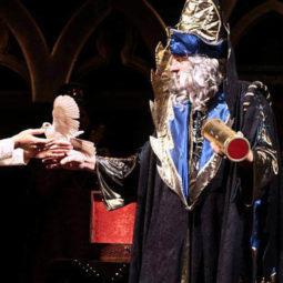 Kouzelník Grino - gotický kostým